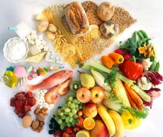 photo of variety of healthy foods