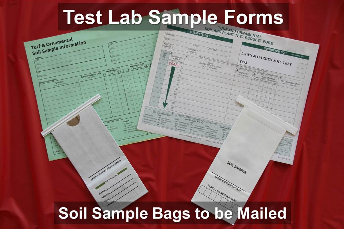 Figure 9 A Typical Soil Test Kit You Will Receive From The Testing Lab