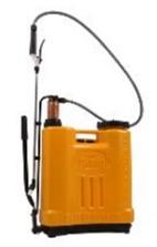 orange backpack sprayer