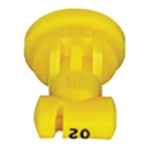 Yellow spray nozzle