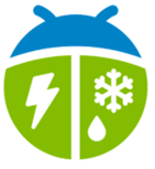 App icon for Weather Bug